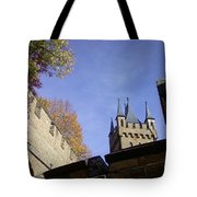 Castle From Afar Tote Bag