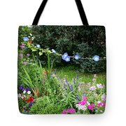 Castle Garden In Germany Tote Bag