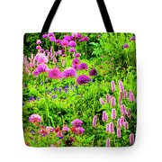 Castle Gardens Tote Bag