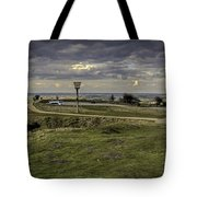 Castle Hill Huddersfield Uk View 3 Tote Bag