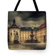 Castle Hill In Color Tote Bag