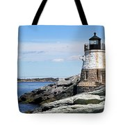 Castle Hill Lighthouse Newport Rhode Island 2 Tote Bag