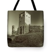Castle In Czersk Tote Bag by