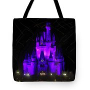 Castle Of Cinderella Tote Bag