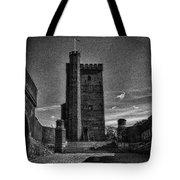 Castle Of Helsingborg Tote Bag