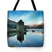 Castle On The Loch Tote Bag