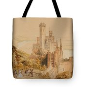 Castle On The Rhine Tote Bag