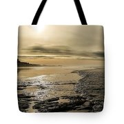 Castle On The Shore Tote Bag