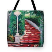 Castle Patio 2 Tote Bag