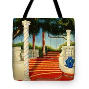Castle Patio 3 Tote Bag