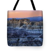 Castle Rock Sunset Tote Bag
