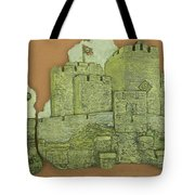 Castle Rushen Tote Bag
