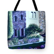Castle Sestri Levante Tote Bag