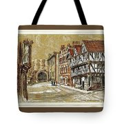 Castle Square Lincoln Tote Bag