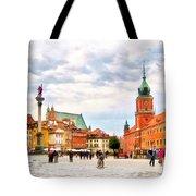 Castle Square, Warsaw Tote Bag