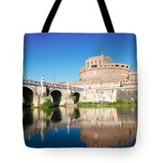 Castle St Angelo Tote Bag