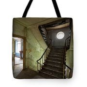 Castle Stairs - Abandoned Building Tote Bag