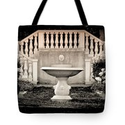 Castle Stairs Tote Bag