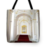 Castle Stairwell Tote Bag