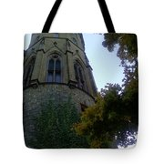 Castle Towers The Trees Tote Bag