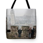 Castle View Tote Bag