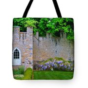 Castle Wall At The Highlands Tote Bag