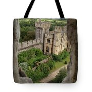 Castle Within A Frame Tote Bag