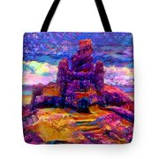 Castles In The Sand Cs-1a Tote Bag