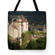 Castles Of Curemonte Tote Bag