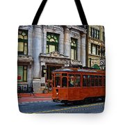 Castro Street Trolley Tote Bag