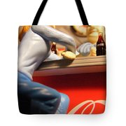 Casual Conversation Tote Bag