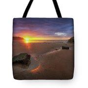 Caswell Bay Sunrise Tote Bag