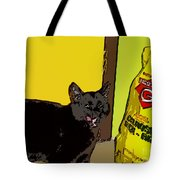 Cat And Rice Tote Bag