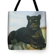 Cat And The Cave Tote Bag