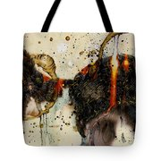 Cat Butt Tote Bag by Grebo Gray