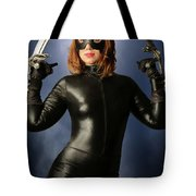 Cat Claws And Mask Tote Bag