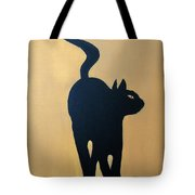 Cat Dance..... Optical Illusion Tote Bag