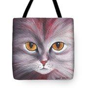 Cat Eyes Red Tote Bag