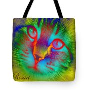 Cat Fluorescent Tote Bag