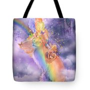 Cat In The Dreaming Hat Tote Bag