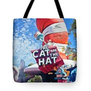 Cat In The Hat Series 2999 Tote Bag