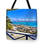 Cat Island House Tote Bag
