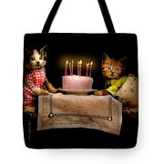Cat - It's Our Birthday - 1914 Tote Bag