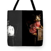 Cat - It's Our Birthday - 1914 - Side By Side Tote Bag