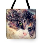 Cat Jasper Tote Bag