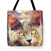 Cat Kiara Tote Bag