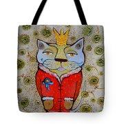 Cat-king Tote Bag