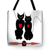 Cat Love Tote Bag