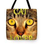Cat Lover Spca Tote Bag