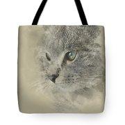 Cat, Nikita Il Gatto. Tote Bag
